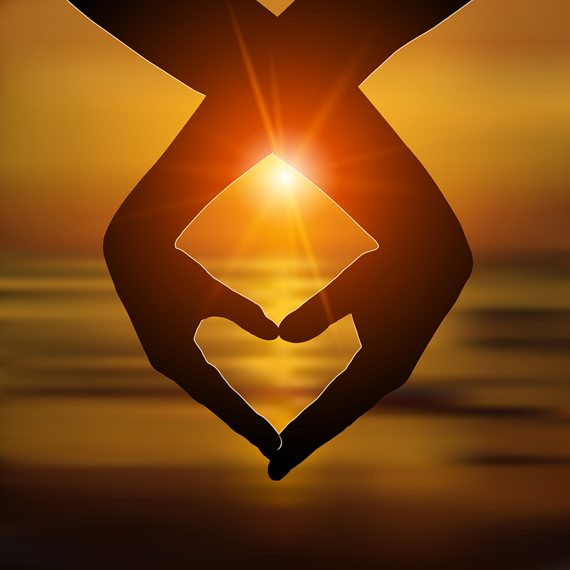 heart space healing